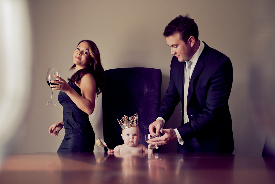 Editorial Family Session - Luxury Family Photography