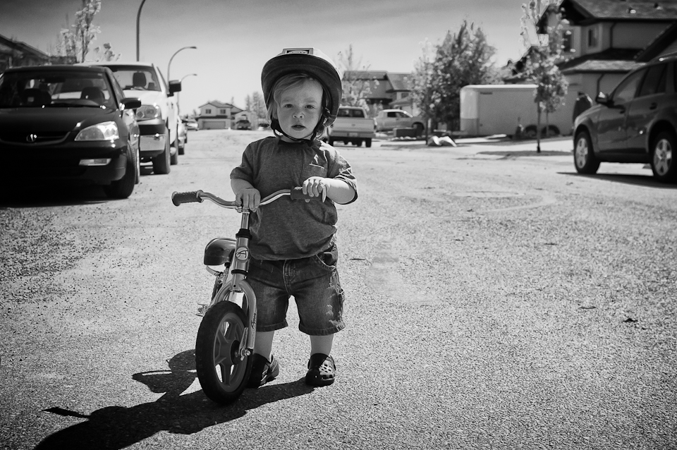 my little man - kid bike ride