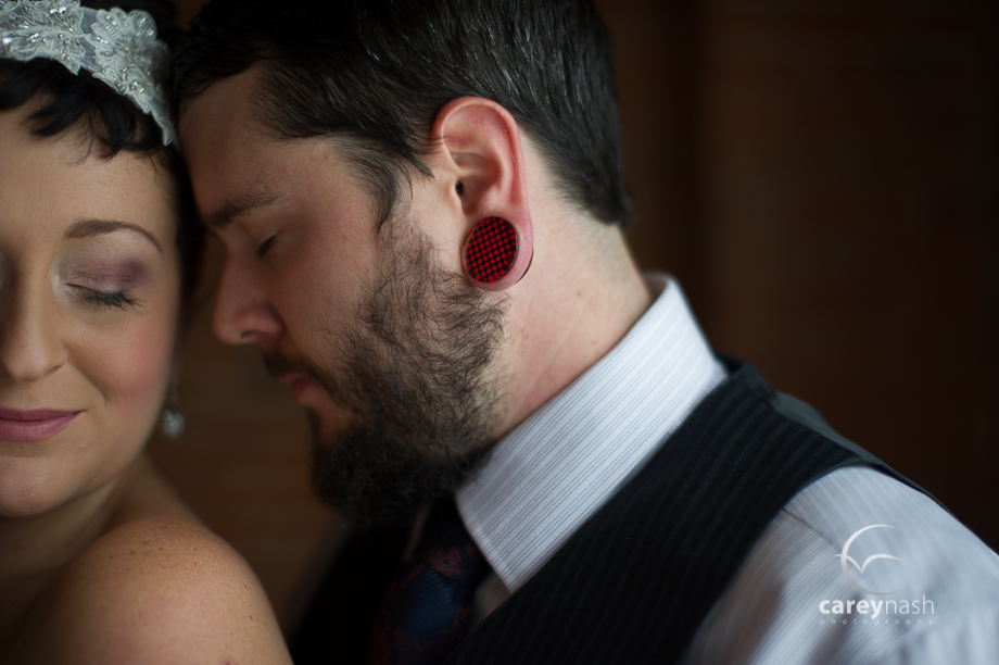 tunnel ear wedding - hipster wedding - year in review 2013