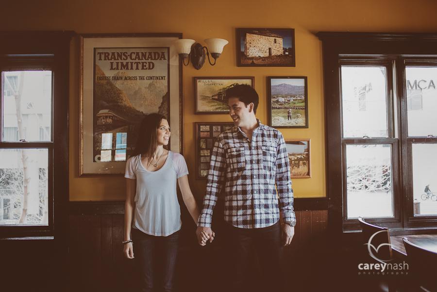 Calgary Engagement Session - Film Wedding - Luxury engagement photographer