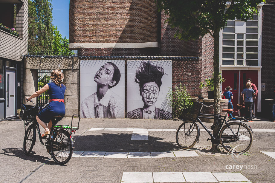 Amsterdam fine art photography - amsterdam bicycle - amsterdam ballerina - photography amsterdam