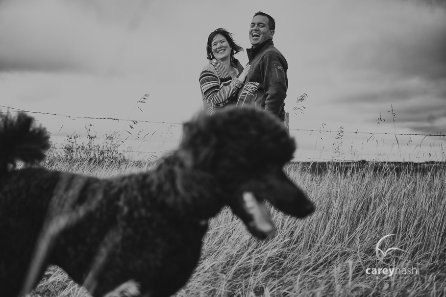 Edmonton Engagement Session - Lindsay + Jeff
