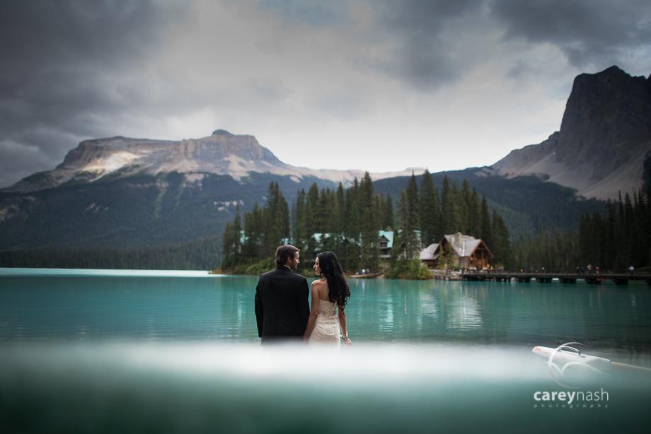 Emerald Lake Wedding - Trash the Dress Mountains - Carey Nash Photography - Heather and Alejandro-12