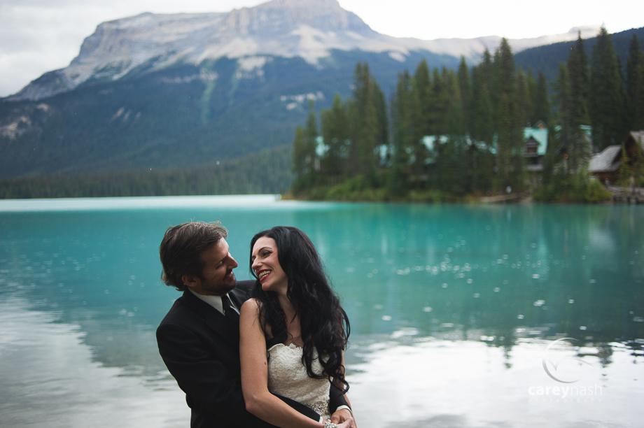 Emerald Lake Wedding - Trash the Dress Mountains - Carey Nash Photography - Heather and Alejandro-13