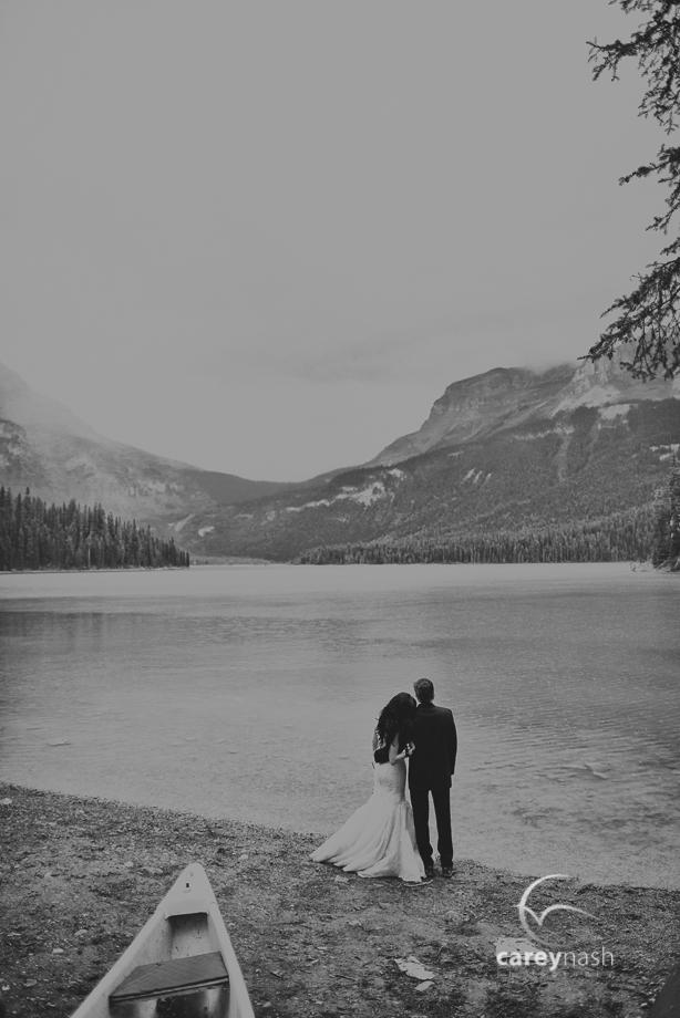 Emerald Lake Wedding - Trash the Dress Mountains - Carey Nash Photography - Heather and Alejandro-17