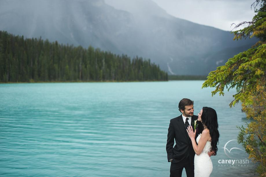 Emerald Lake Wedding - Trash the Dress Mountains - Carey Nash Photography - Heather and Alejandro-21
