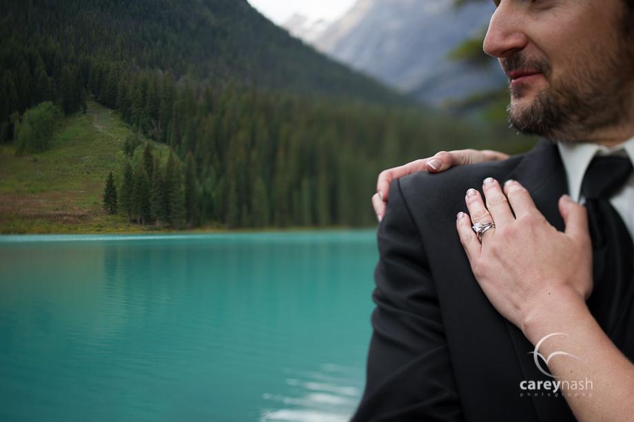 Emerald Lake Wedding - Trash the Dress Mountains - Carey Nash Photography - Heather and Alejandro-23