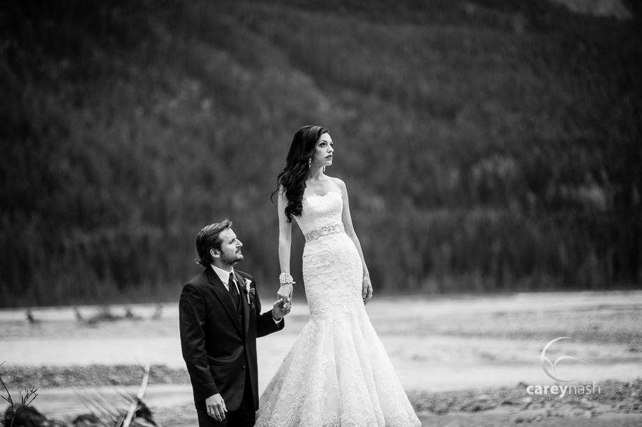 Emerald Lake Wedding - Trash the Dress Mountains - Carey Nash Photography - Heather and Alejandro-3