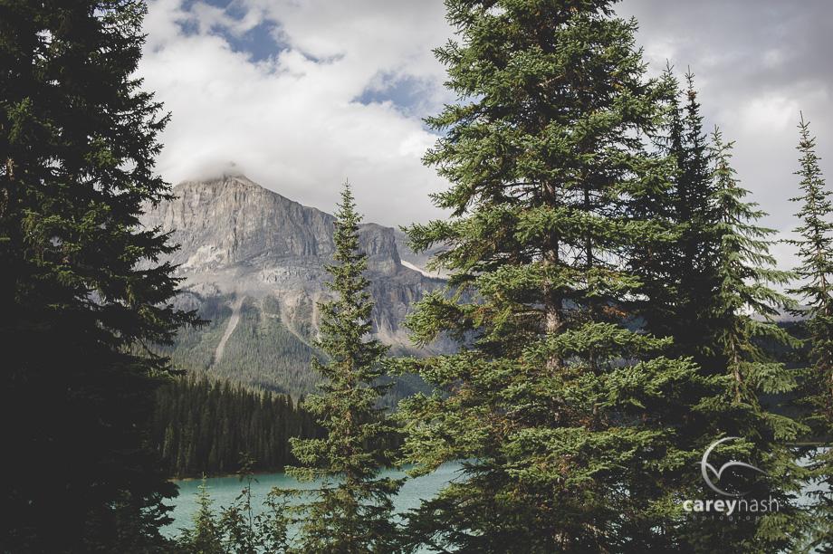 Emerald Lake Wedding - Trash the Dress Mountains - Carey Nash Photography - Heather and Alejandro-32