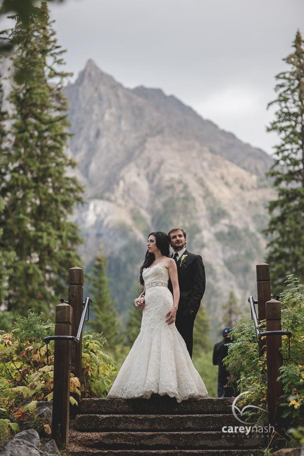 Emerald Lake Wedding - Trash the Dress Mountains - Carey Nash Photography - Heather and Alejandro-38