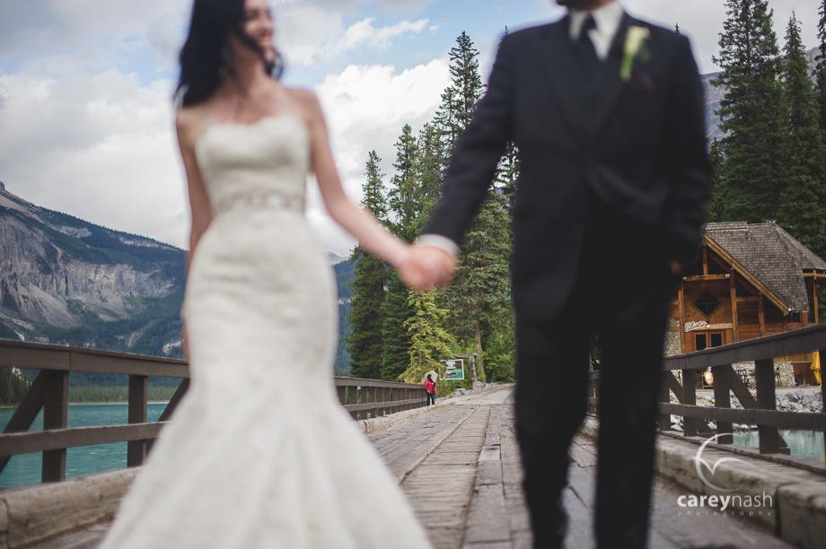 Emerald Lake Wedding - Trash the Dress Mountains - Carey Nash Photography - Heather and Alejandro-39
