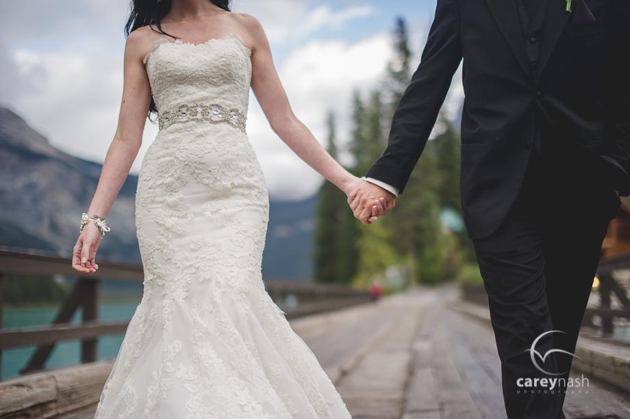 Emerald Lake Wedding - Trash the Dress Mountains - Carey Nash Photography - Heather and Alejandro-40