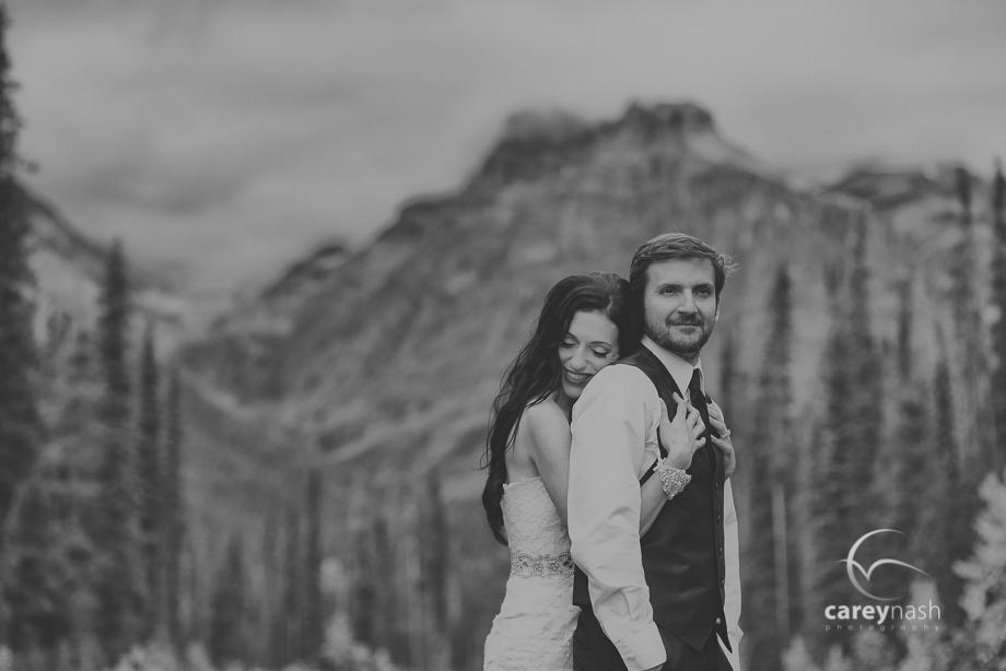 Emerald Lake Wedding - Trash the Dress Mountains - Carey Nash Photography - Heather and Alejandro-43