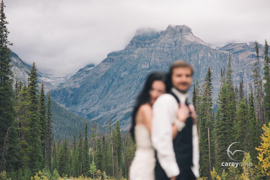 Emerald Lake Wedding - Trash the Dress Mountains - Carey Nash Photography - Heather and Alejandro-44