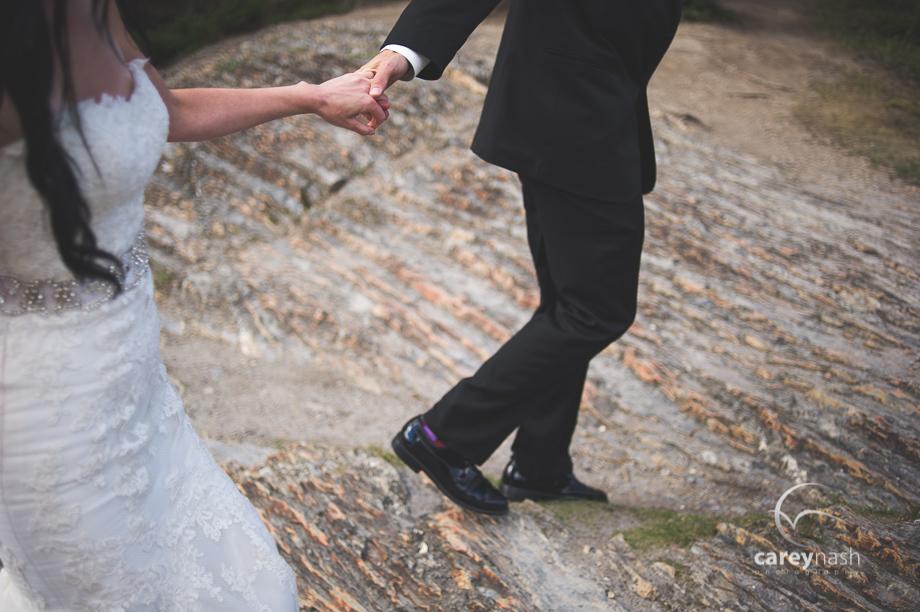Emerald Lake Wedding - Trash the Dress Mountains - Carey Nash Photography - Heather and Alejandro-48