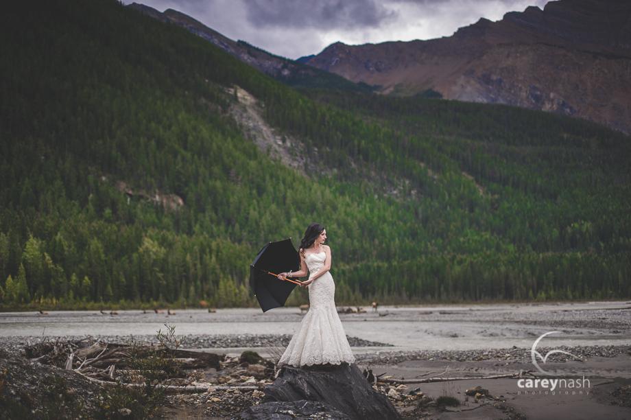 Emerald Lake Wedding - Trash the Dress Mountains - Carey Nash Photography - Heather and Alejandro-5
