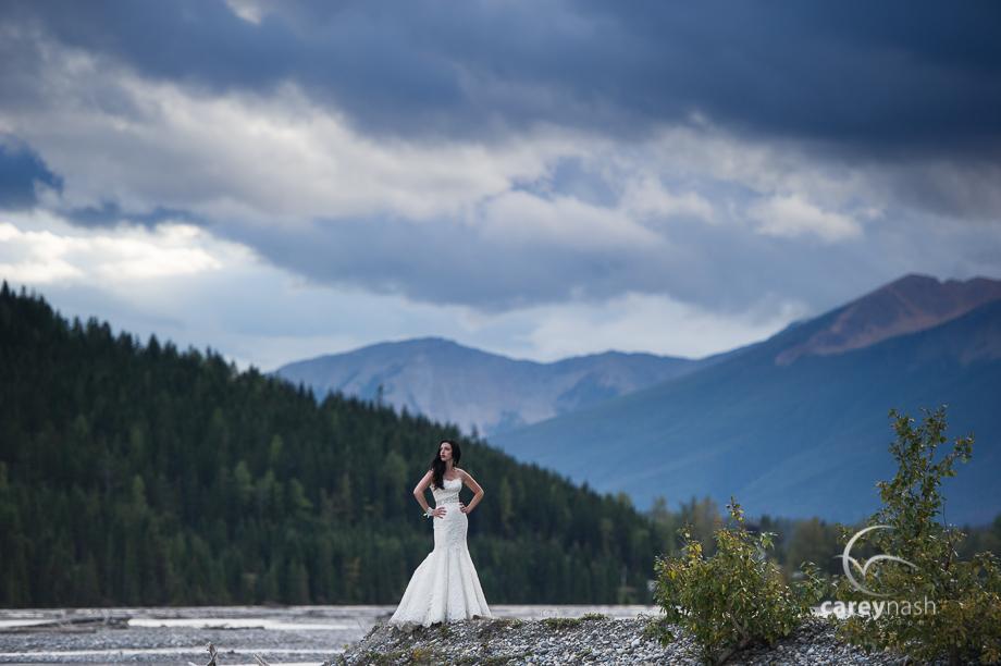 Emerald Lake Wedding - Trash the Dress Mountains - Carey Nash Photography - Heather and Alejandro-55