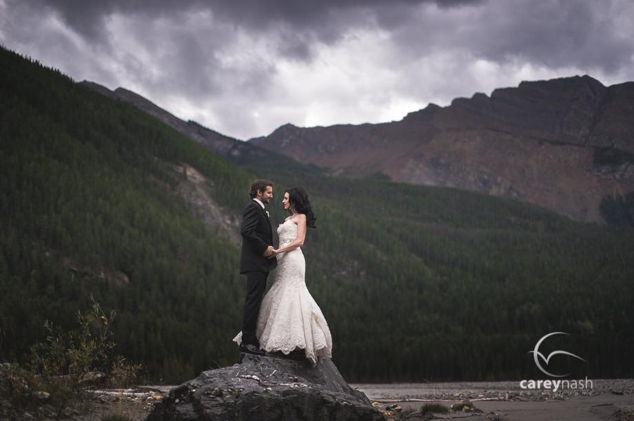 Emerald Lake Wedding - Trash the Dress Mountains - Carey Nash Photography - Heather and Alejandro-6