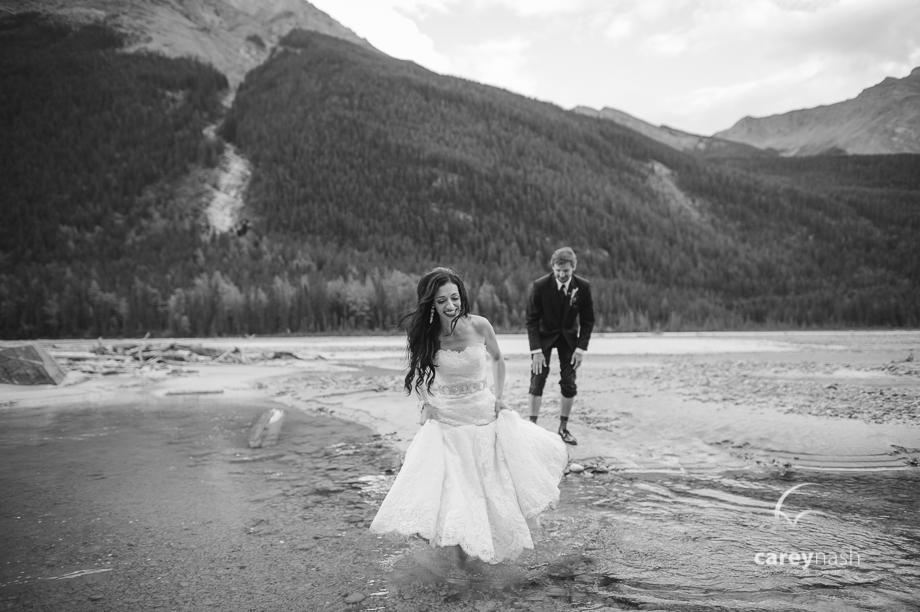 Emerald Lake Wedding - Trash the Dress Mountains - Carey Nash Photography - Heather and Alejandro-60