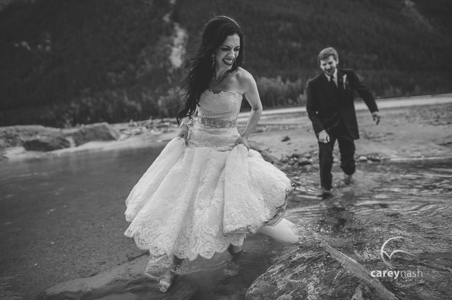 Emerald Lake Wedding - Trash the Dress Mountains - Carey Nash Photography - Heather and Alejandro-61