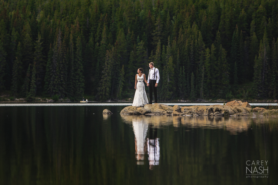 Pyramid Lake Resort Wedding – Jasper Wedding – Yori + Craig