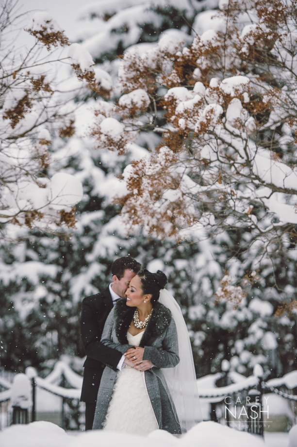 Fairmont Wedding - Art gallery Wedding - Luxury Wedding - Winter Wedding - Sean + Su-31