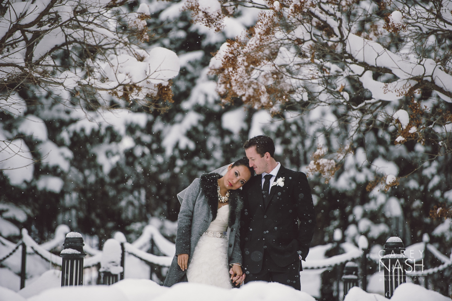 Fairmont Wedding - Art gallery Wedding - Luxury Wedding - Winter Wedding - Sean + Su-33