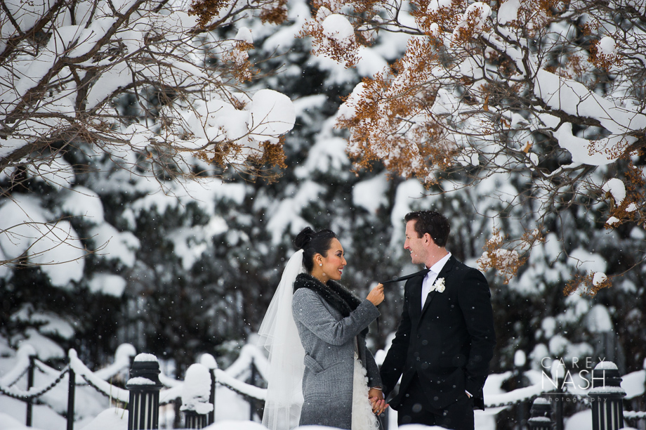 Fairmont Wedding - Art gallery Wedding - Luxury Wedding - Winter Wedding - Sean + Su-34