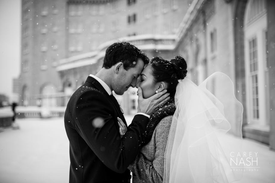 Fairmont Wedding - Art gallery Wedding - Luxury Wedding - Winter Wedding - Sean + Su-40