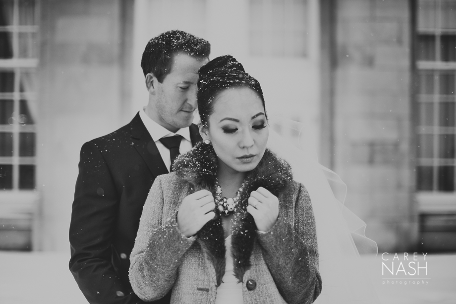 Fairmont Wedding - Art gallery Wedding - Luxury Wedding - Winter Wedding - Sean + Su-42