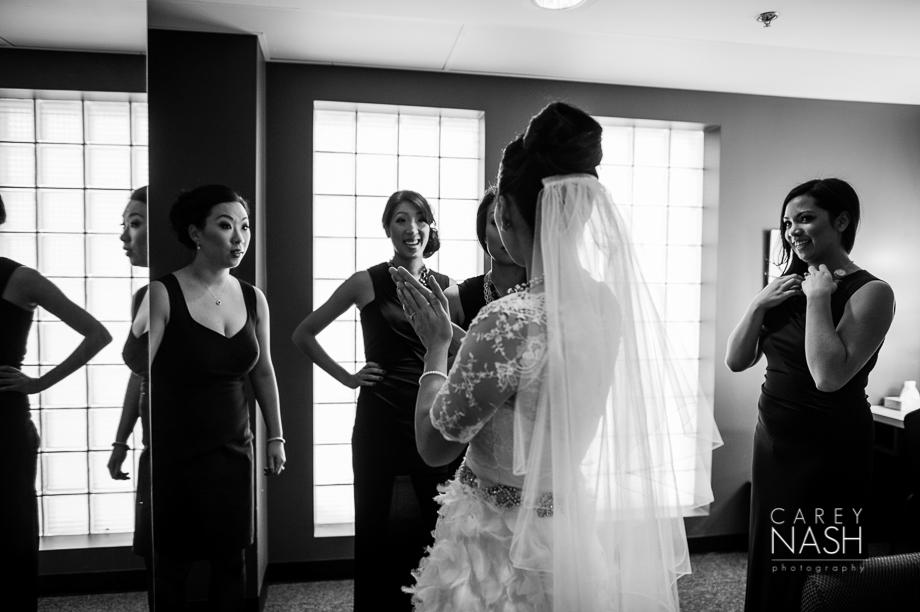 Fairmont Wedding - Art gallery Wedding - Luxury Wedding - Winter Wedding - Sean + Su-43
