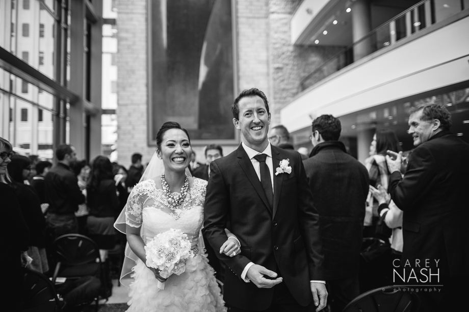Fairmont Wedding - Art gallery Wedding - Luxury Wedding - Winter Wedding - Sean + Su-55