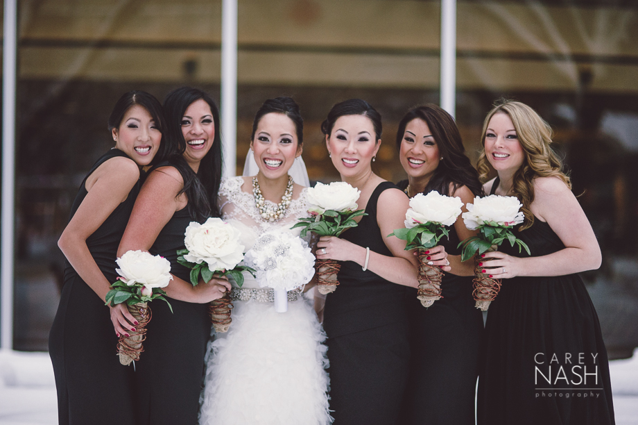 Fairmont Wedding - Art gallery Wedding - Luxury Wedding - Winter Wedding - Sean + Su-57