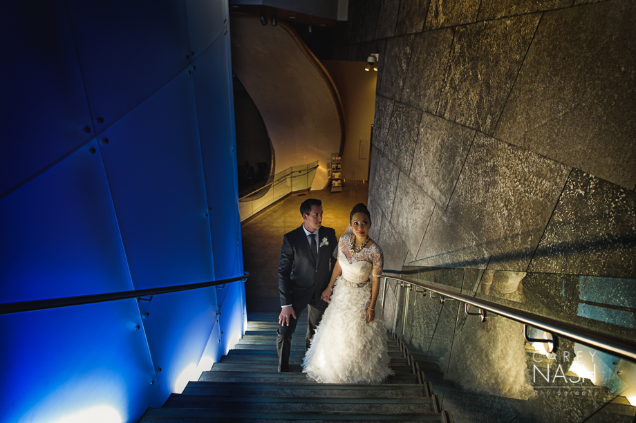 Fairmont Wedding - Art gallery Wedding - Luxury Wedding - Winter Wedding - Sean + Su-63