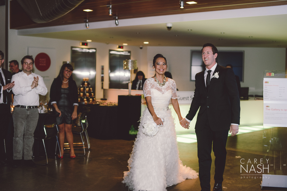 Fairmont Wedding - Art gallery Wedding - Luxury Wedding - Winter Wedding - Sean + Su-71