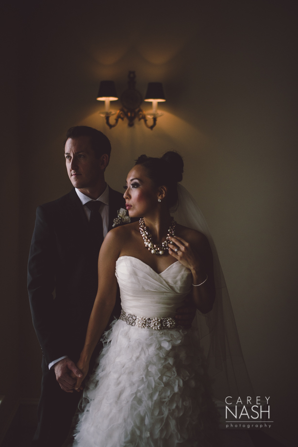 Fairmont Wedding - Art gallery Wedding - Luxury Wedding - Winter Wedding - Sean + Su