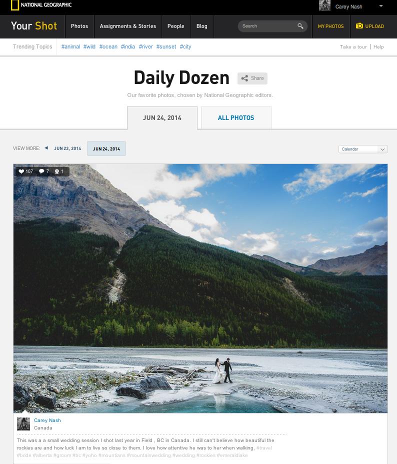 national geographic daily dozen