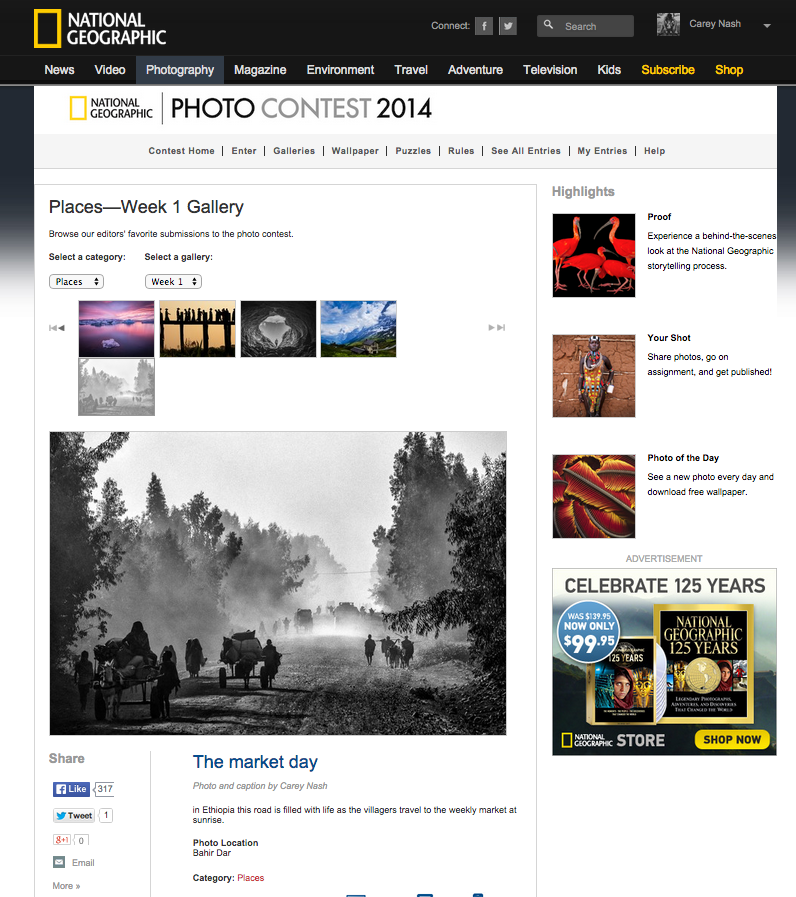 National Geographic Photo contest favourite