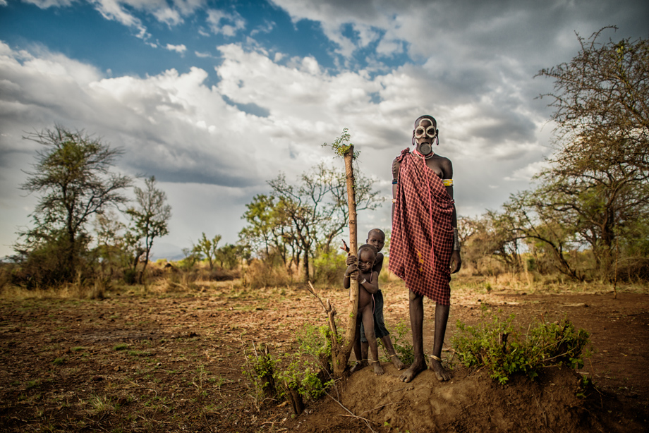 Ethiopia Backpacking - Africa Fine Art Photography - Omo tribes-9