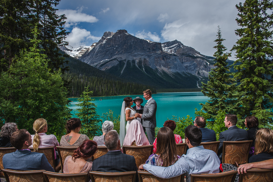 emerald lake wedding - Peyto Lake wedding  (3 of 6)
