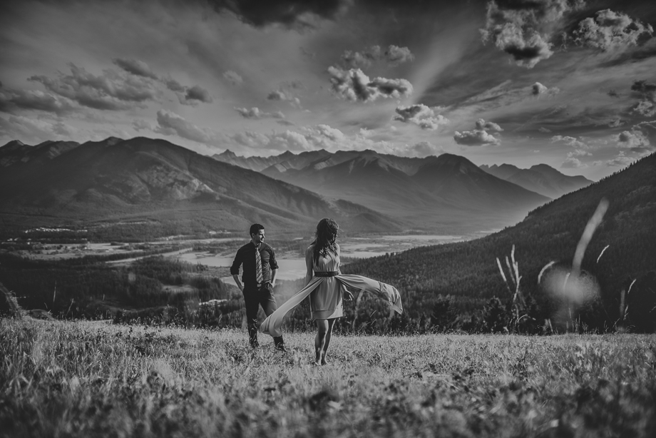Banff Engagement Session - Luxury Wedding (5 of 10)