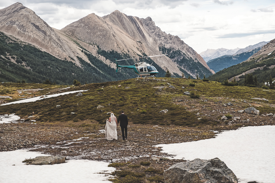Emerald Lake Elopement - Heli Elopement - BC Wedding - Emerald Lake Wedding (1 of 1)