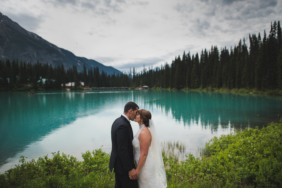 Emerald Lake Elopement - Heli Elopement - BC Wedding - Emerald Lake Wedding (21 of 35)