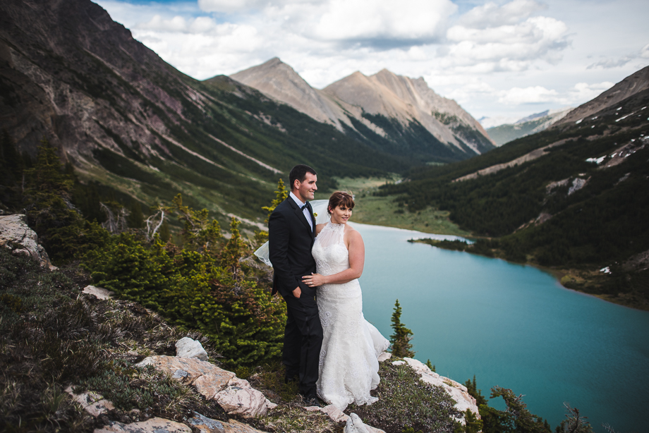Emerald Lake Elopement - Heli Elopement - BC Wedding - Emerald Lake Wedding (4 of 35)