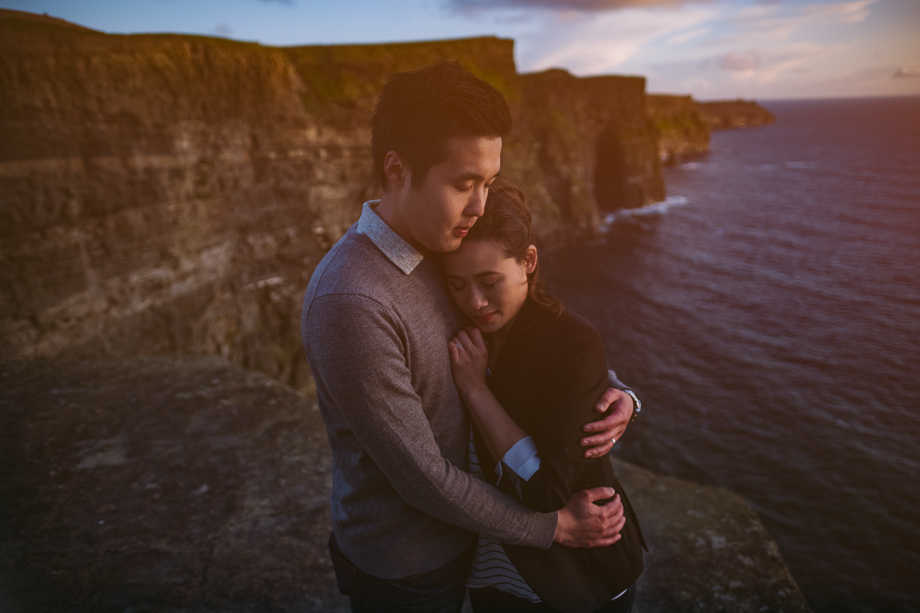 Ireland Engagement Session - Cliffs of Moher (1 of 3)