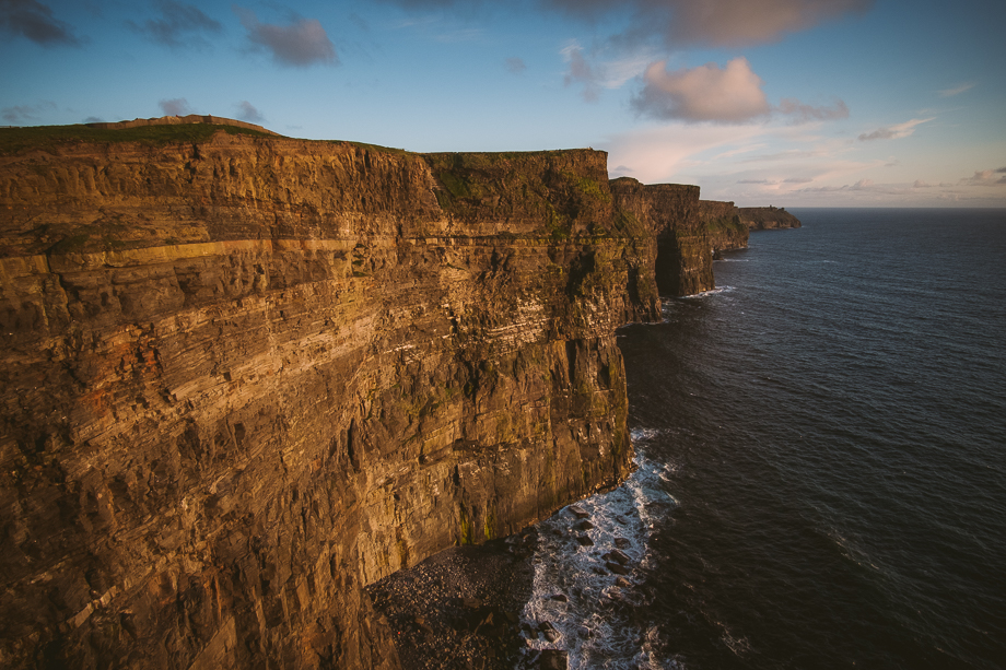 Ireland Engagement Session - Cliffs of Moher (2 of 3)