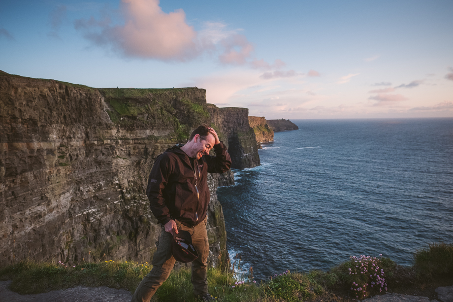 Ireland Engagement Session - Cliffs of Moher (3 of 3)