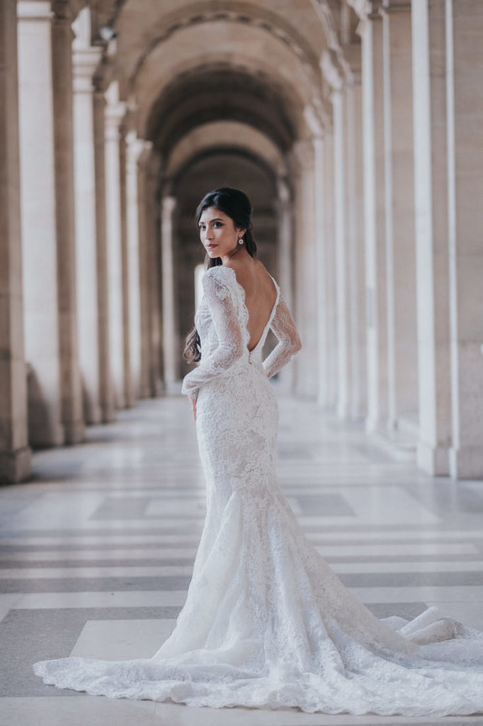 galia lahav wedding gown in paris