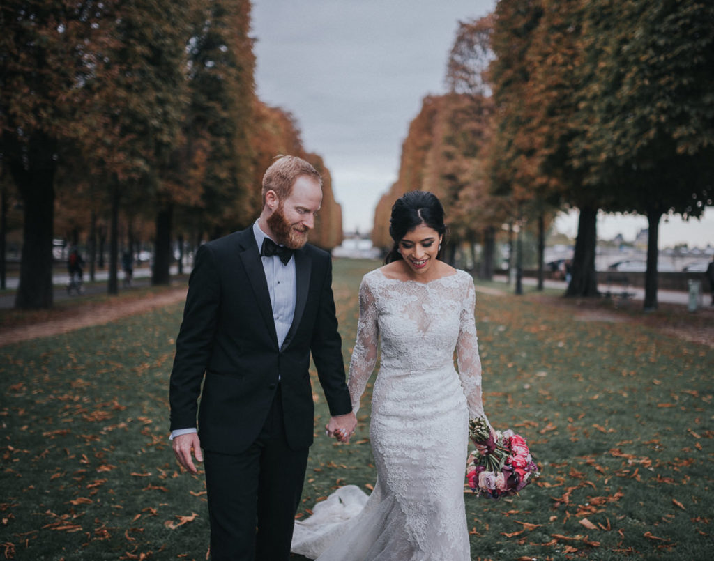 Luxury Paris wedding