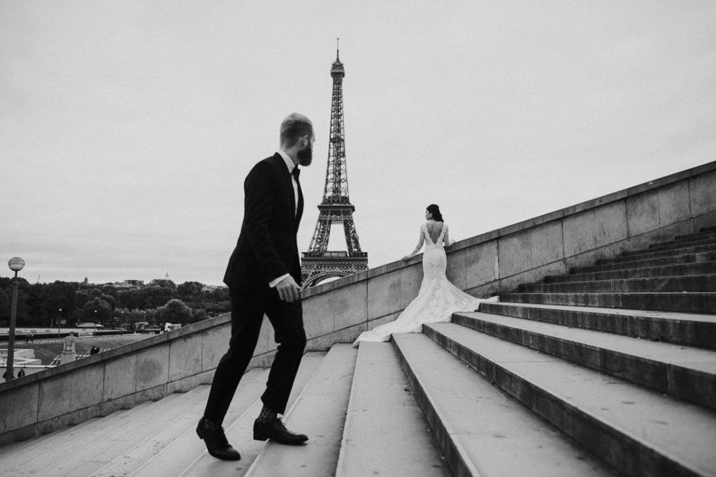 award winning wedding in Paris